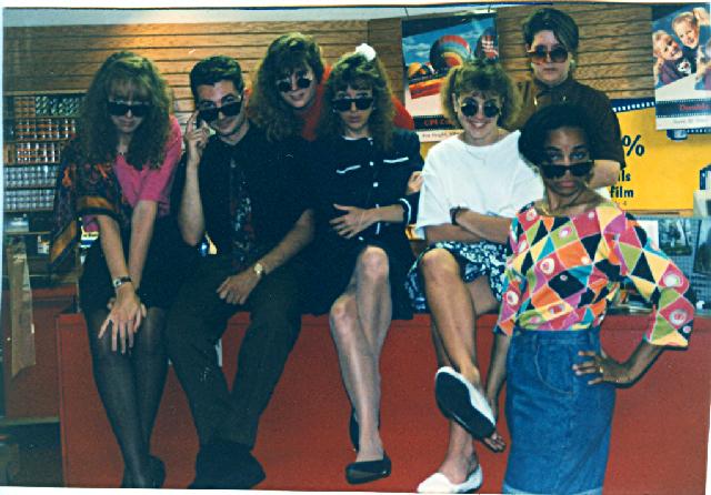 silly staff photo