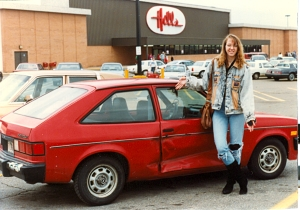 with my car--1993