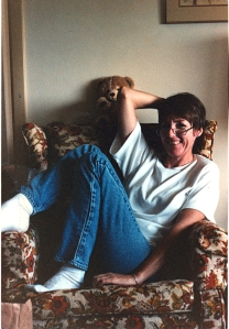 Mom--about 4 months before she died