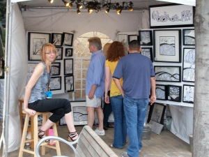 art city austin--my booth