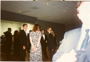 at a wedding--1993