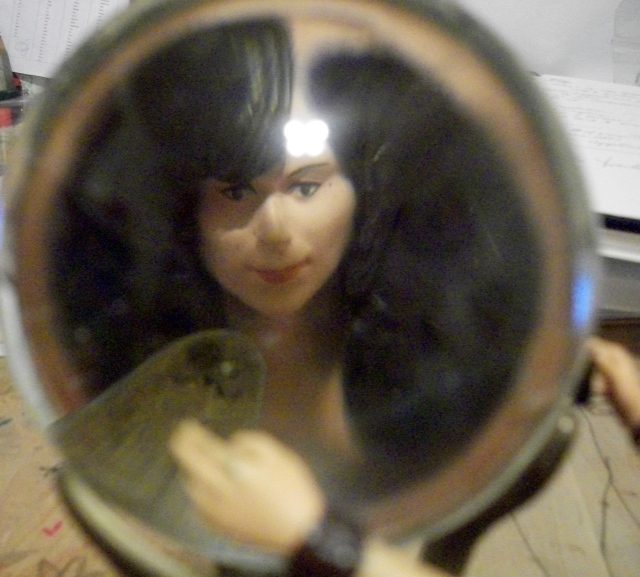 in the crystal ball