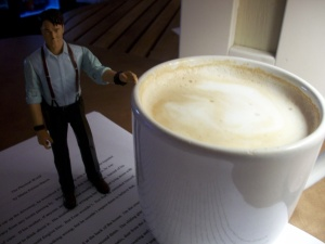 my Tuesday night latte, my captain, my short story