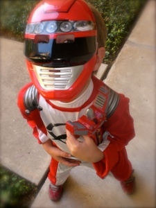 Impersonating a Power Ranger