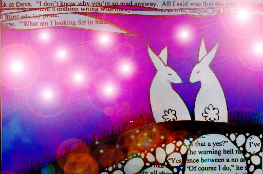 bunnies in light