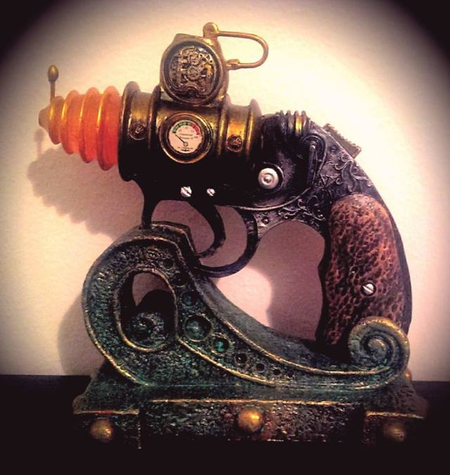 my steampunk pistol