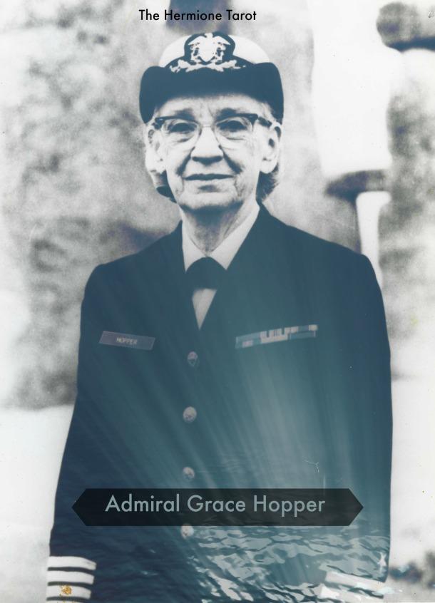 Photograph.  Captain Grace Hopper.  Unregistered item.