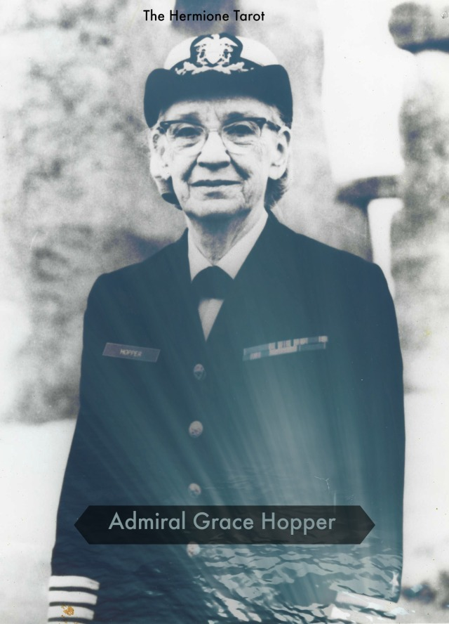 Photograph.  Captain Grace Hopper.  Unregistered item.
